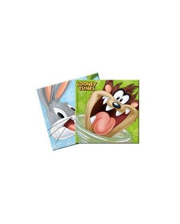 Servítky Looney Tunes 33cm 20ks