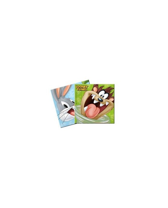 Servítky Looney Tunes 33cm 20ks/P168