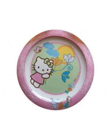 Plast. tanier Hello Kitty 22 cm