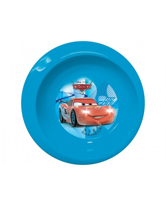 Plast. miska Autá na ľade 16cm