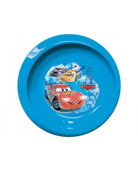 Plast. tanier  Autá na ľade 20cm