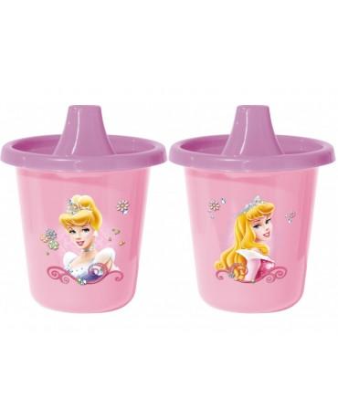 Cestovné plast. hrnčeky Princess 2x225 ml