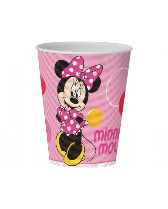 Plast. pohár 3D Minnie Mouse 350 ml