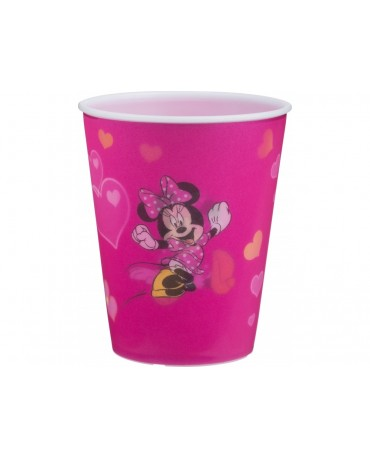 Plast. pohár 3D Minnie Mouse 350 ml