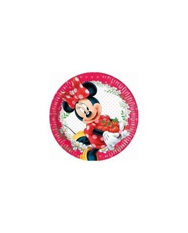 Tanieriky Minnie Mouse -Jam 23 cm - 8 ks