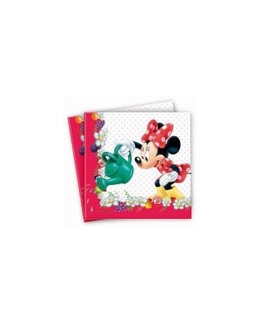 Servítky Minnie Mouse -Jam 33cm 20ks