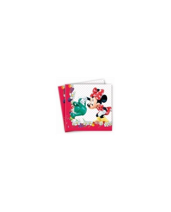 Servítky s motívom Minnie Mouse -džem 33cm 20ks/P175