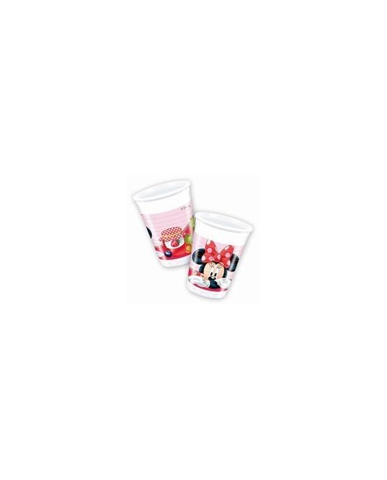 Poháre s motívom Minnie Mouse- džem 200ml - 8 kusov/P175