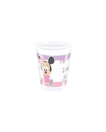 Poháre Malá Minnie 200ml - 8 ks