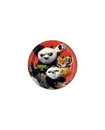 Tanieriky Kung Fu Panda 23 cm - 8 ks