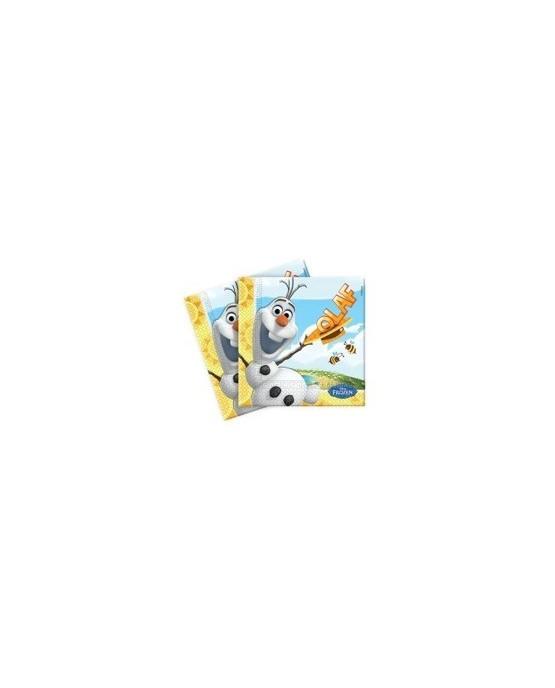 Servítky s motívom Olaf- Ľadové kráľovstvo 33cm 20ks/P127