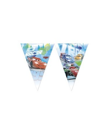 Banner vlajok - Autá - na ľade 2,3m