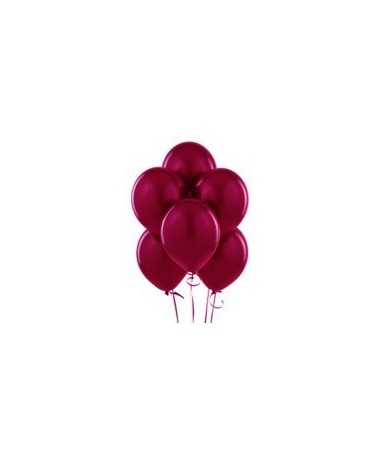 "Latexové balóny pastelové - bordové 12"" 10ks"