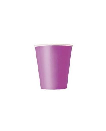 Poháre - fialové 266 ml 8ks