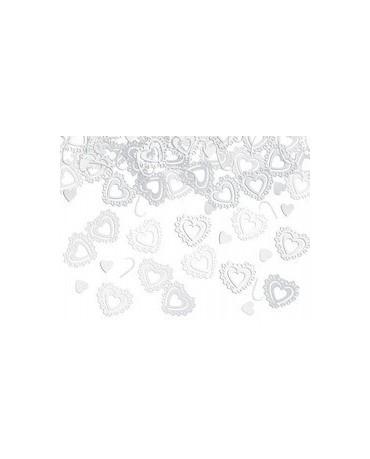 Konfety srdcia - biele 15 g