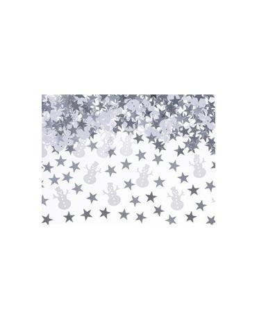 Konfety snehuliak a hviezdy 7g