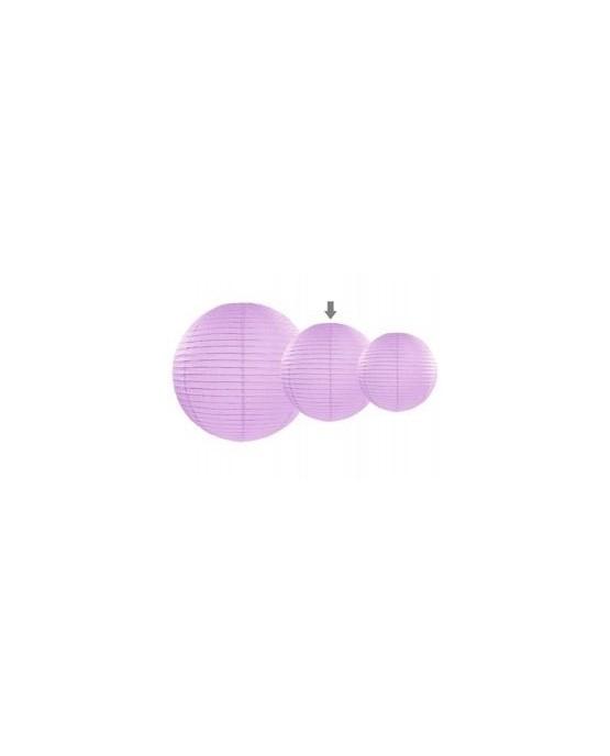 Dekorácia lampión- levandulová lopta 25cm 1ks/P184