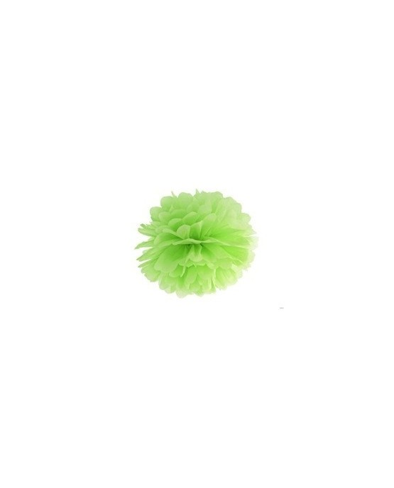Visiaca dekorácia kvet - bledozelený 35cm 1ks/P3