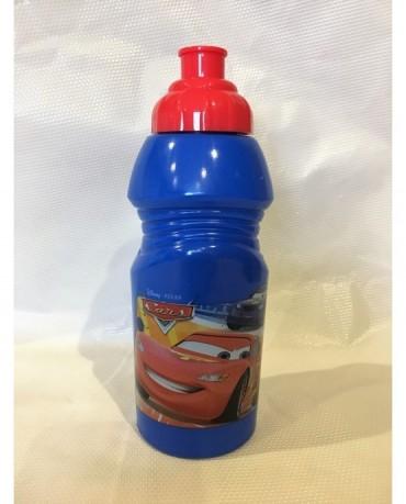 Plast. fľaša Autá 375 ml