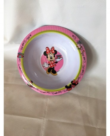 Plast. miska Minnie Mouse 16cm