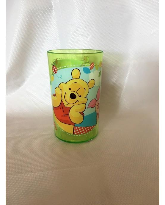 Plast. pohár Macko Pu 225 ml
