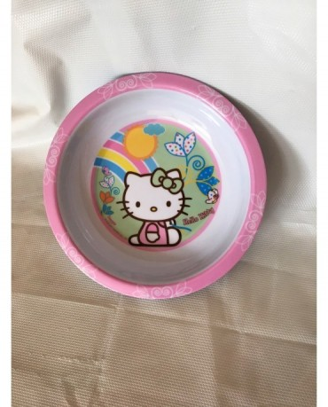 Plast. tanier Hello Kitty 19,5 cm
