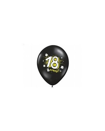 Latexové balóny Crazy 18 - 30cm 10ks