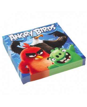 Servítky Angry Birds Movie 33cm - 20 ks