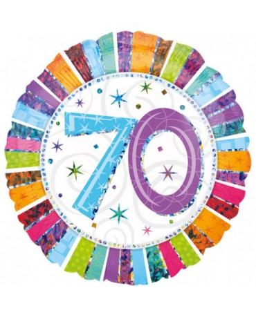 Fól. balón č. 70 -farebný