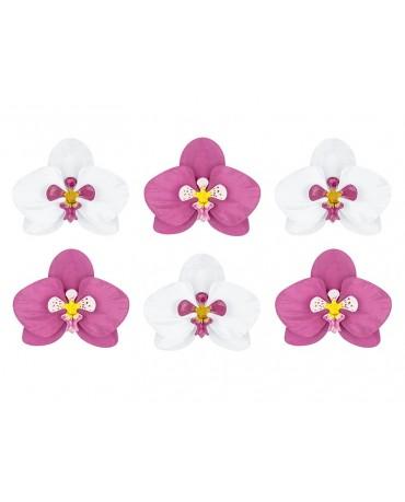 Dek. orchidea 6ks