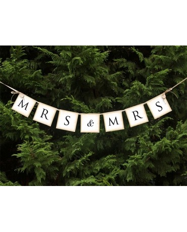 Banner MRS&MRS 90cm