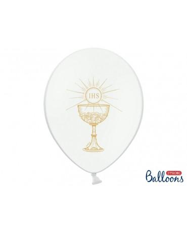 Latexové balóny IHS -biele 30cm 10ks