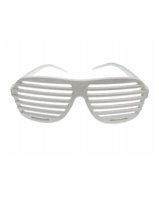 Okuliare - biele okenice 1ks/P61