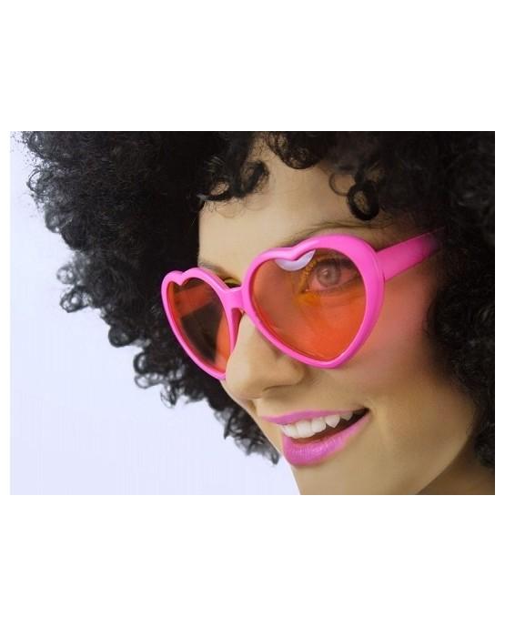Okuliare - ružové srdcia 1ks/P61