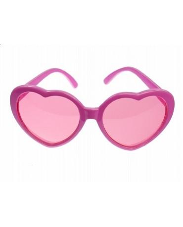 Okuliare - ružové srdcia