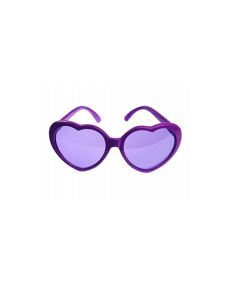 Okuliare - fialové srdcia 1ks P61. Loading zoom 6d16738ad0e