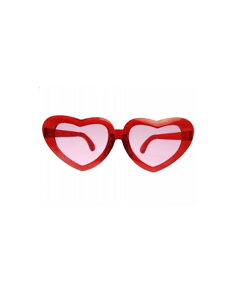 Okuliare - červené srdcia 1ks P61. Loading zoom 582c95870ee