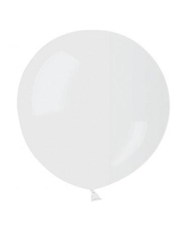 Latexové balóny - priehľadné 85cm  2ks
