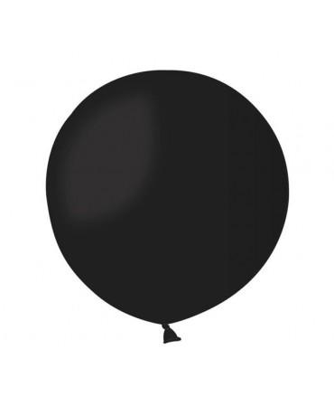 Obrovský latexový balón - čierny 85cm  1ks/P27