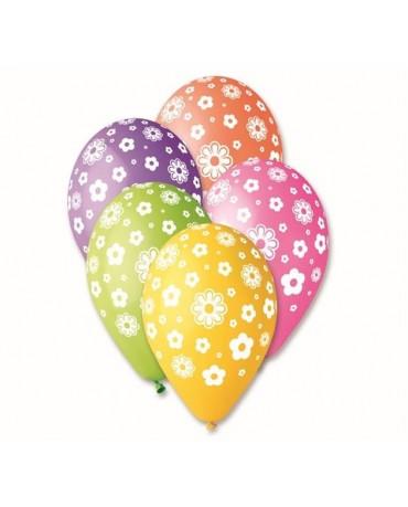 "Latexové balóny kvety 12"" 10ks"