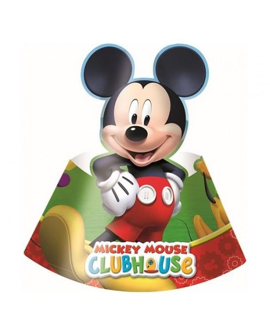 Klobúčik Mickey Mouse 6ks/P216