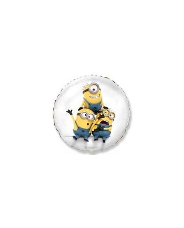"Fóliový balón Mimoni - biely 18"""