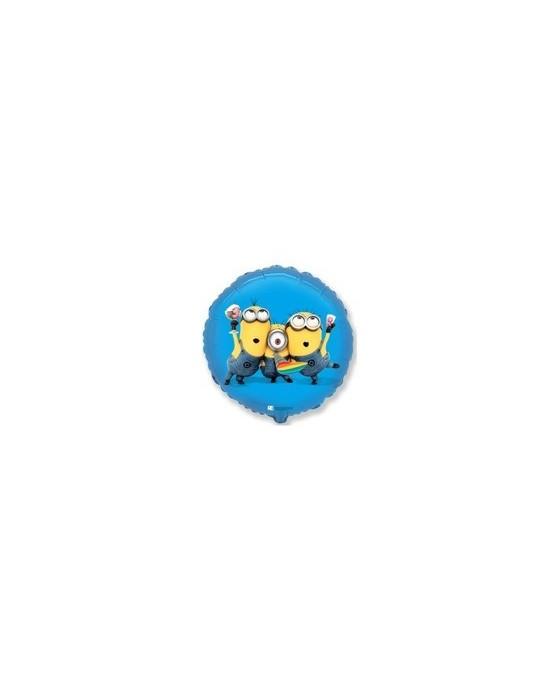 Fóliový balónik Mimoni - Party - modrý 45cm 1ks/P52