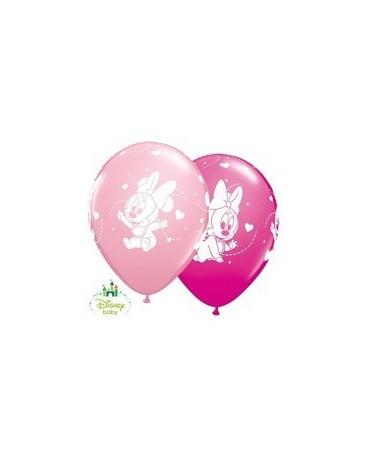 Latexové balóny Malá Minnie 30cm 10ks