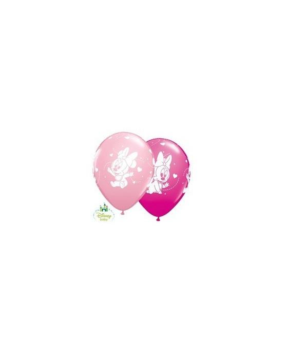Latexové balóniky Malá Minnie 30cm 10ks/P40