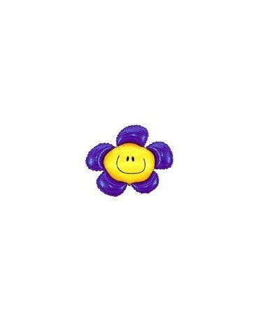 Fóliový balón Kvet - fialový 94cm