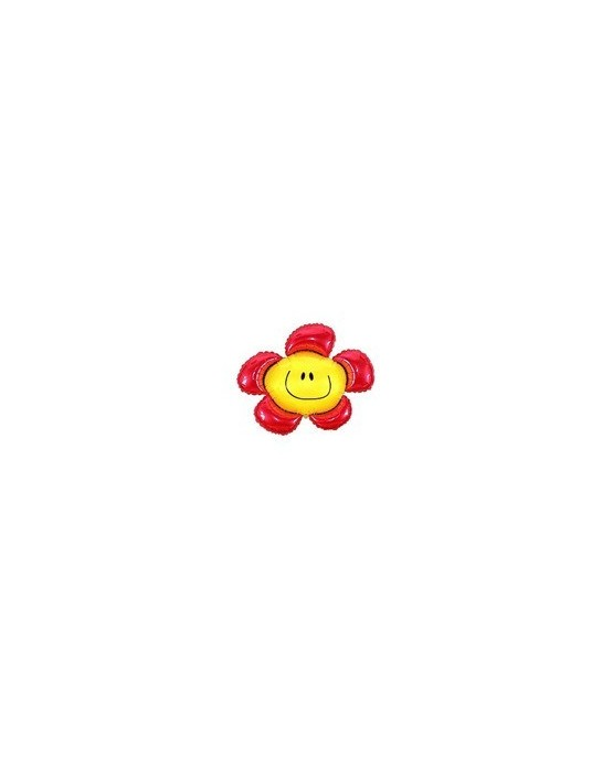 Fóliový balónik Kvet - červený 94cm 1ks/P48