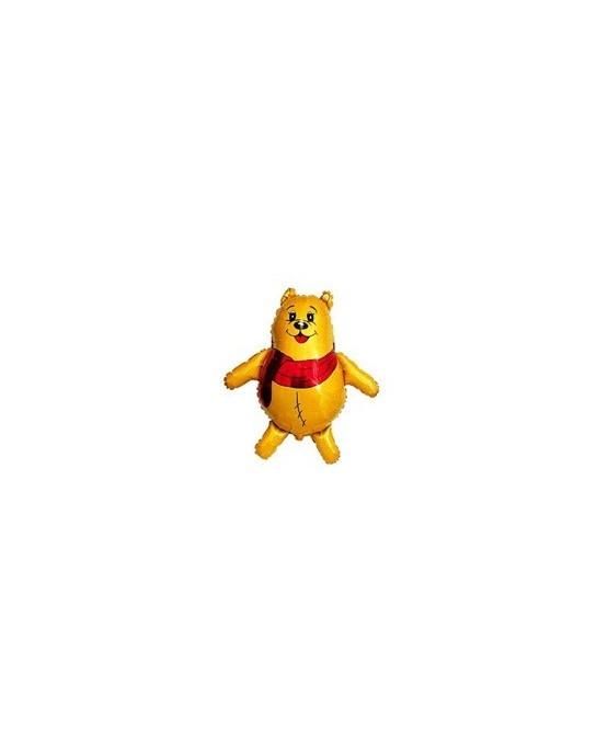 """Fóliový balónik s motívom Medvedíka Pu 14"""" 37cm 1ks/P53"""