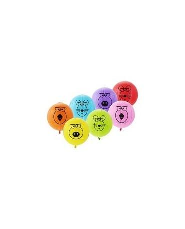Latexové balóniky zvieratká 1ks 53cm/P30