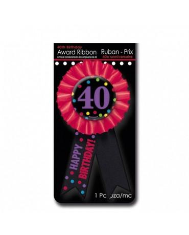 Brošňa Happy Birthday 40